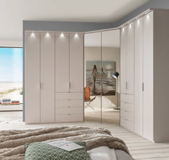 WiemannBoston Wardrobe W51cm with Bi Fold DoorsBlue Ocean Interiors