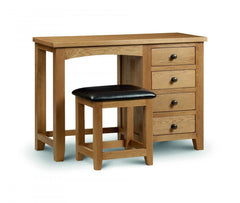 Marlborough Single Pedestal Dressing Table  dressing table- Blue Ocean Interiors