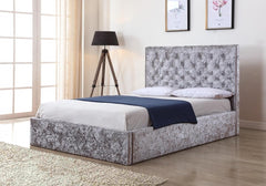 Yasmin Storage Fabric Bed  fabric bed- Blue Ocean Interiors