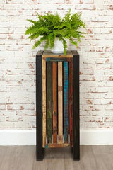 Urban Chic Tall Plant Stand / Lamp Table  side table- Blue Ocean Interiors