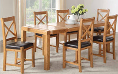 Oakridge Waxed 4' Dining Set