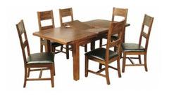 Roscrea 5' Extension Dining Table with 6 Chairs