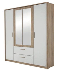 RauchAmberg Hinged Door Wardrobe 181cm WideBlue Ocean Interiors