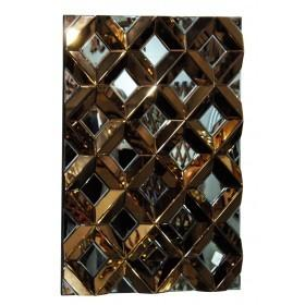 Eco FurnitureBronze Mirrored Wall Mirror KFH787CBlue Ocean Interiors
