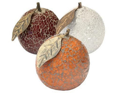Glass Mosaic Orange  ornament- Blue Ocean Interiors