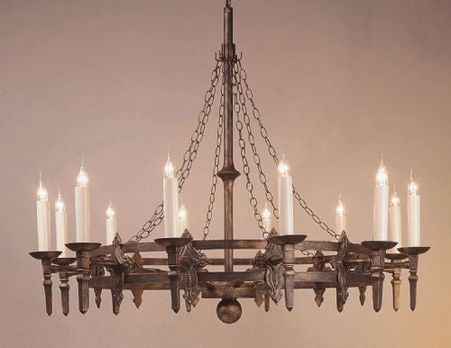 Impex LightingBaronial SMRR01312/MBLK Pendant LightBlue Ocean Interiors
