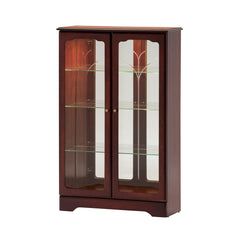 GolaClifton and Downton Low Display Cabinet with Mirror BackBlue Ocean Interiors