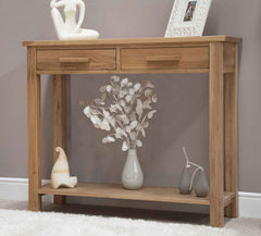 Opus Oak Hall/Console Table  console table- Blue Ocean Interiors