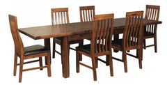 Roscrea 6' Extension Dining Table with 6 Chairs