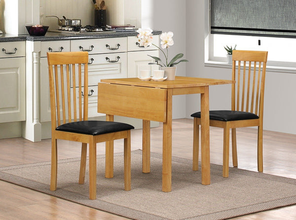 Heartlands FurnitureAtlas Drop Leaf Dining Table and 2 ChairsBlue Ocean Interiors