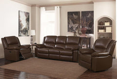 Toledo Leather and PVC 3+2+1 Sofa Set  leather sofa- Blue Ocean Interiors