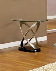 Picasso Glass Lamp Table  side table- Blue Ocean Interiors