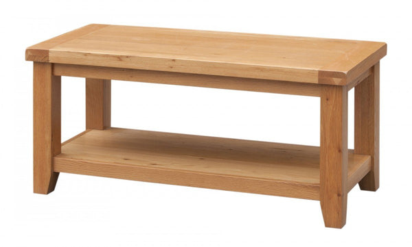 Heartlands FurnitureAcorn Solid Oak Coffee TableBlue Ocean Interiors
