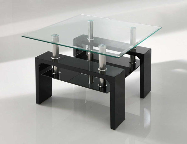 Vida LivingCalico Lamp Table in BlackBlue Ocean Interiors
