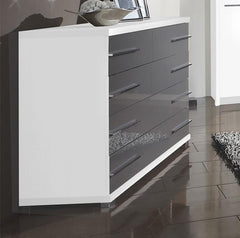 WiemannAlassio Wide 4 Drawer ChestBlue Ocean Interiors