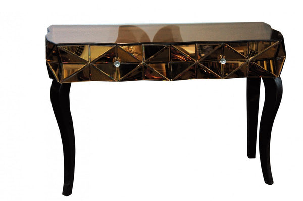 Eco FurnitureBronze Mirrored Console Table KFC189ACBlue Ocean Interiors