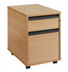 Maestro Storage Mobile Pedestals With 2 Or 3 Drawers In Beech Or Oak Finish  filing cabinets- Blue Ocean Interiors
