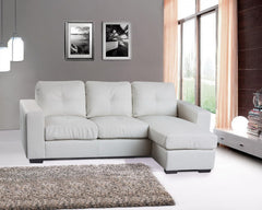 Heartlands FurnitureDiego Corner Sofa in Leather Finish 2 Colours AvailableBlue Ocean Interiors