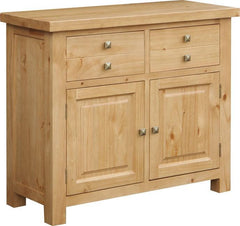 Midway Chunky Pine Sideboard with 2 doors and 2 Drawers  sideboard- Blue Ocean Interiors