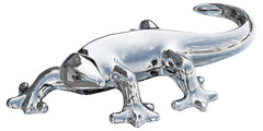 Platinum Gecko Large Sculpture  ornament- Blue Ocean Interiors