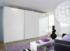 RauchBeluga Plus 3 Door Sliding Wardrobe With High Polish DoorsBlue Ocean Interiors
