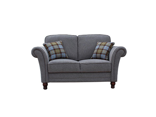 Vida LivingArgyle 2 Seater Grey Sofa with 2 Scatter CushionsBlue Ocean Interiors