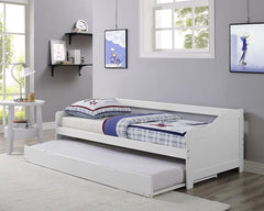 Maine White Wooden Sofa Bed  sofa bed- Blue Ocean Interiors