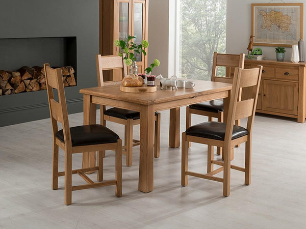 Vida LivingBreeze 140cm Extending Dining Table and 6 Breeze ChairsBlue Ocean Interiors
