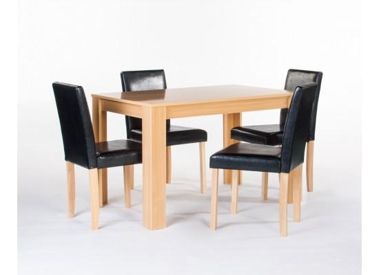 LPD FurnitureCambridge Dining table with 4 ChairsBlue Ocean Interiors