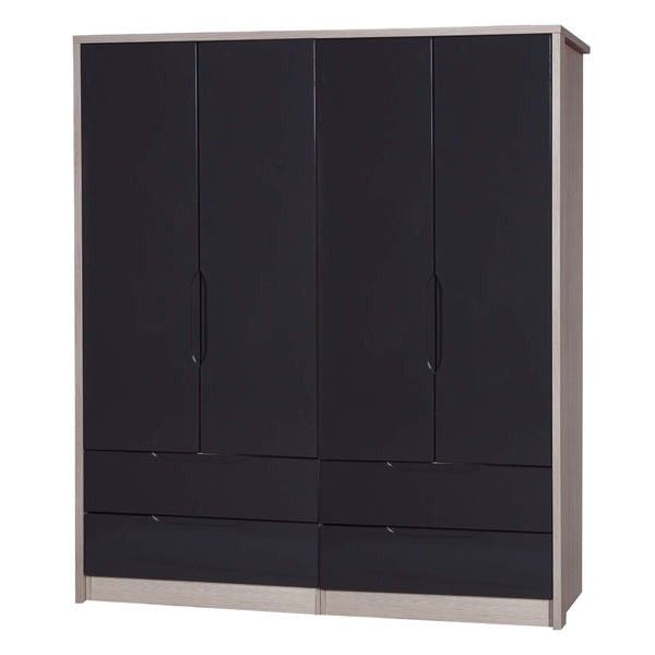 One-Call Furniture LtdAvola Premium Plus 4 Door Combi WardrobeBlue Ocean Interiors