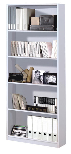 Heartlands FurnitureArctic Bookshelf in High Shine White FinishBlue Ocean Interiors