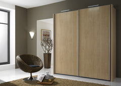 Miami 2 Sliding Door Wardrobe Plain Fronts  sliding door wardrobe- Blue Ocean Interiors