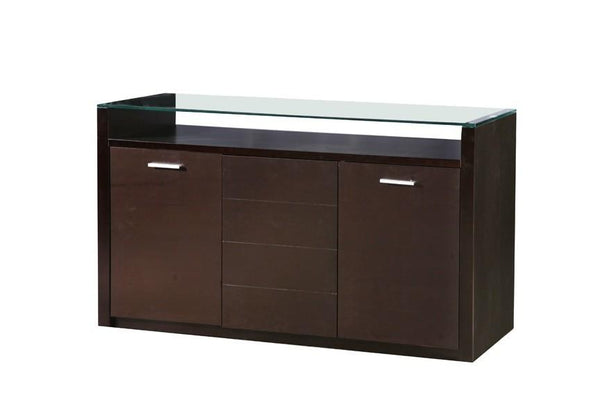 Heartlands FurnitureBaltic Sideboard with Glass TopBlue Ocean Interiors