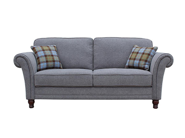 Vida LivingArgyle 3 Seater Grey Sofa with 2 Scatter CushionsBlue Ocean Interiors