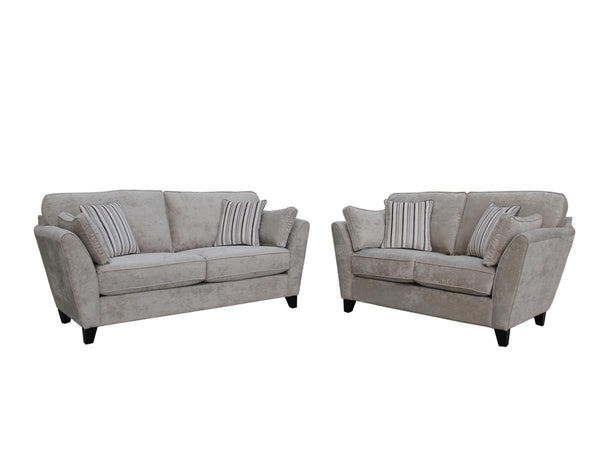 Vida LivingAspen 3 + 2 Sofa Set in Parchment Fabric FinishBlue Ocean Interiors