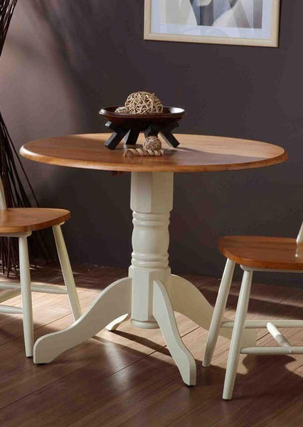 Vida LivingBrecon Round Dining Table Only in Buttermilk FinishBlue Ocean Interiors