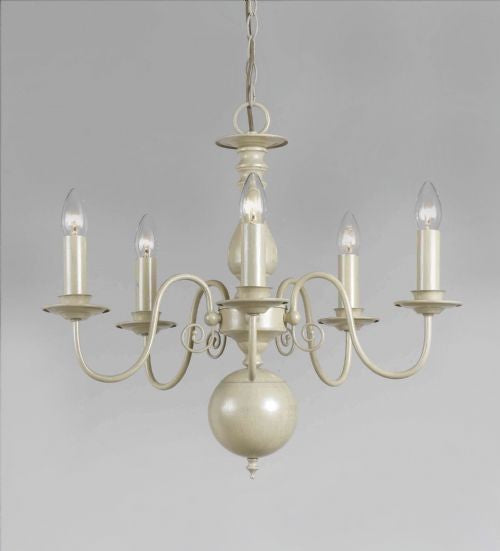 Impex LightingBologna PG05579/05/CRM Pendant LightBlue Ocean Interiors