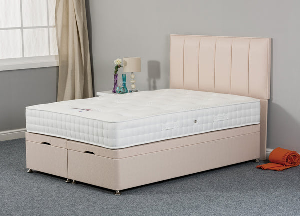 Antoinette 1000 90cm Fabric Divan Bed
