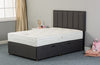 Antoinette 1000 75cm Fabric Divan Bed