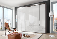 Cayenne Combi Wardrobe with Extended Depth W333cm