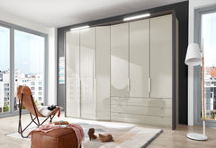 Wiemann Cayenne Combi Hinged Door Wardrobe with Extended Depth.