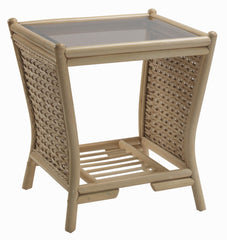 Harlow Rattan Lamp Table