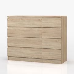 Vienna 4 Drawer Double Chest  chest of drawers- Blue Ocean Interiors