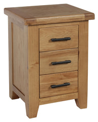 Lawrence Solid Oak Bedside Table