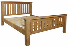 Lawrence Solid Oak Bed