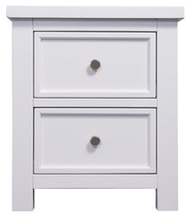 Lewis 2 Drawers Bedside Table