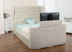 Lola Fabric TV Bed in Pablo, Chenille or Executive Finish