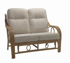 Madrid 2 Seater Rattan Sofa