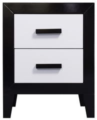 Mode 2 Drawer Bedside Table