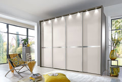 New York Sliding Door Wardrobe W400cm 4 Door